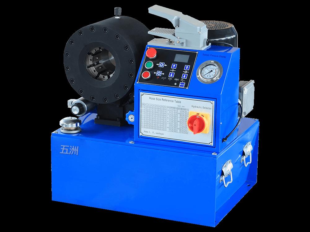 扣压油管_wz-250按钮式数控-油管扣压机系列-潍坊市经济开发区五洲扣压机厂