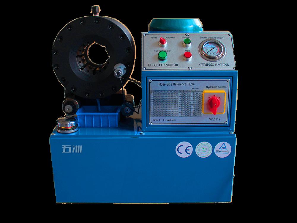 扣压油管_Wz-250型扣压机-油管扣压机系列-潍坊市经济开发区五洲扣压机厂